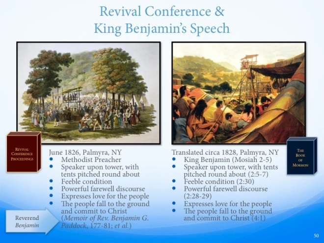 Revival Conference Parallels King Benjamin